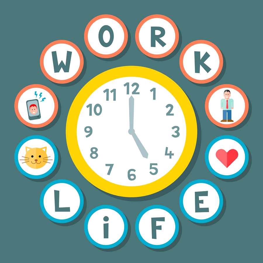 Are you taking time off for life, or only focused on work?